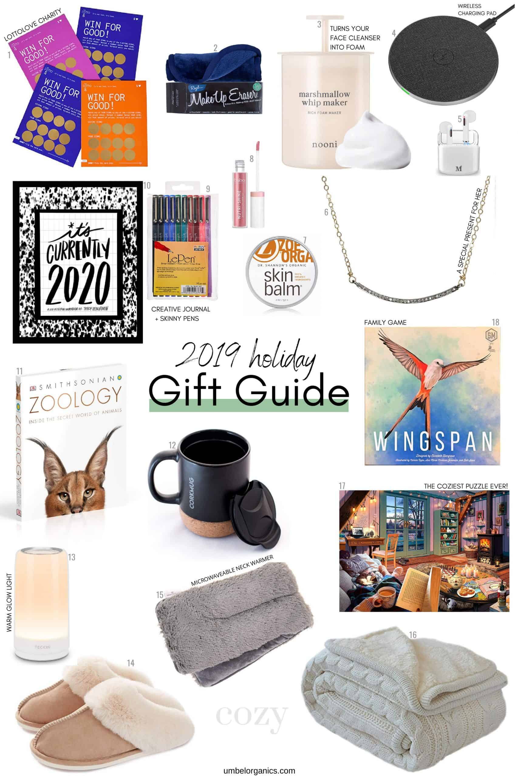 Holiday gift guide for family