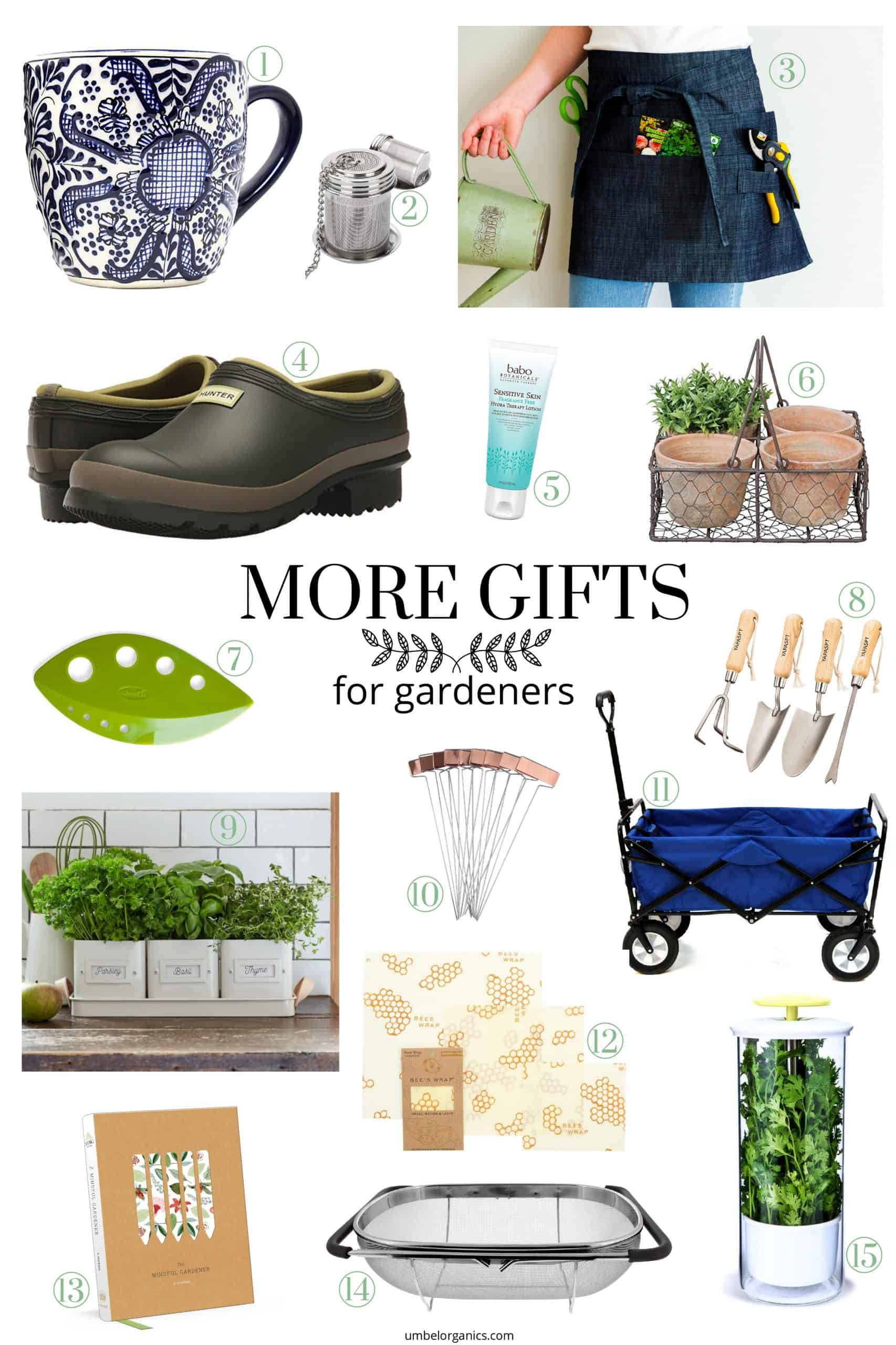 More gifts for garden lovers