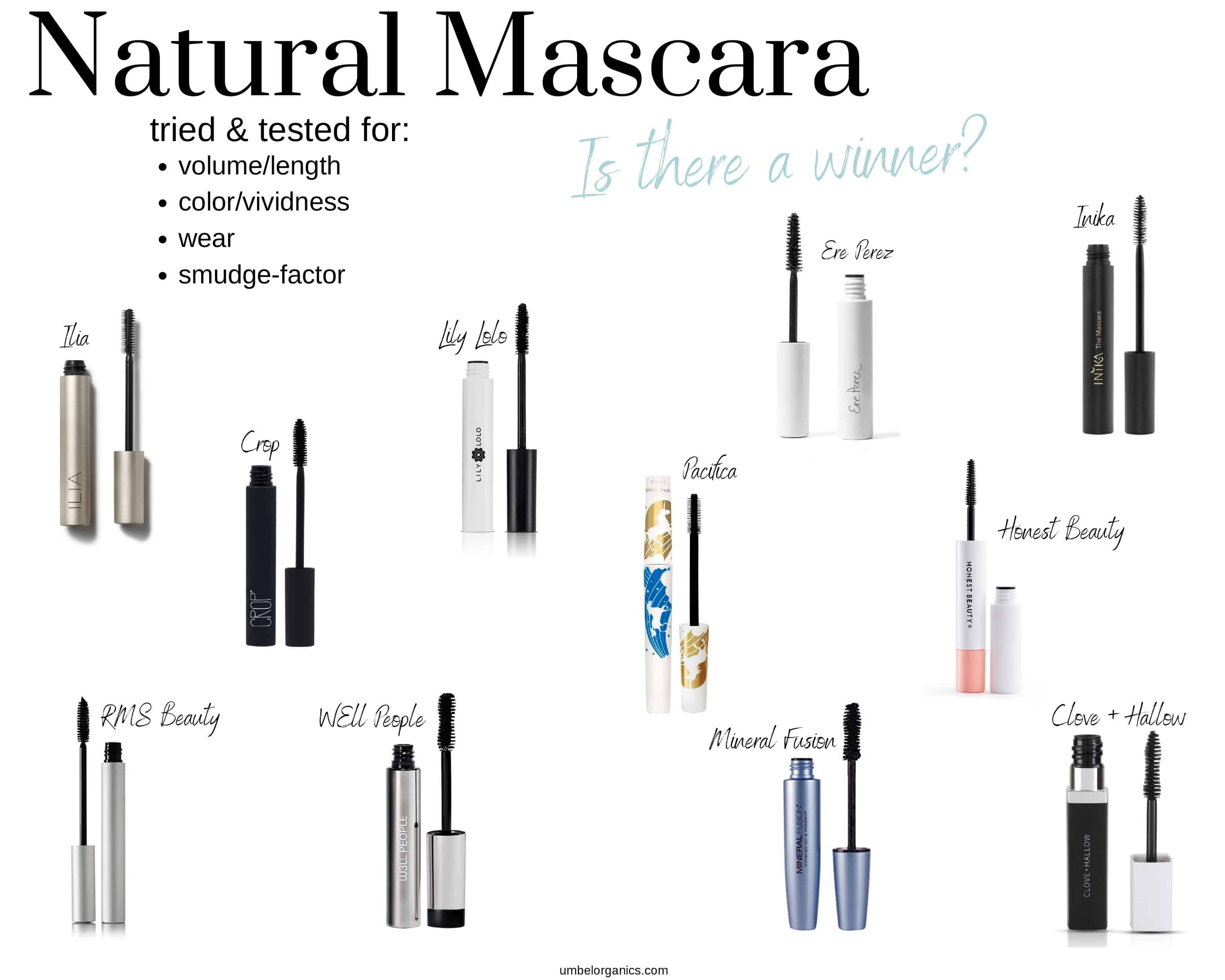 11 natural mascara brands- which is best?
