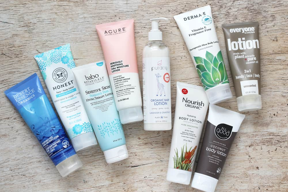 Nine Brands of Clean and Organic Body Lotion
