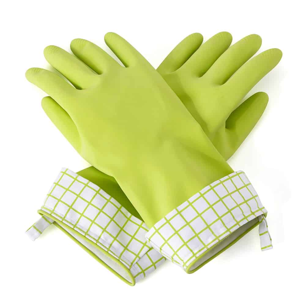 Full Circle natural latex dish gloves