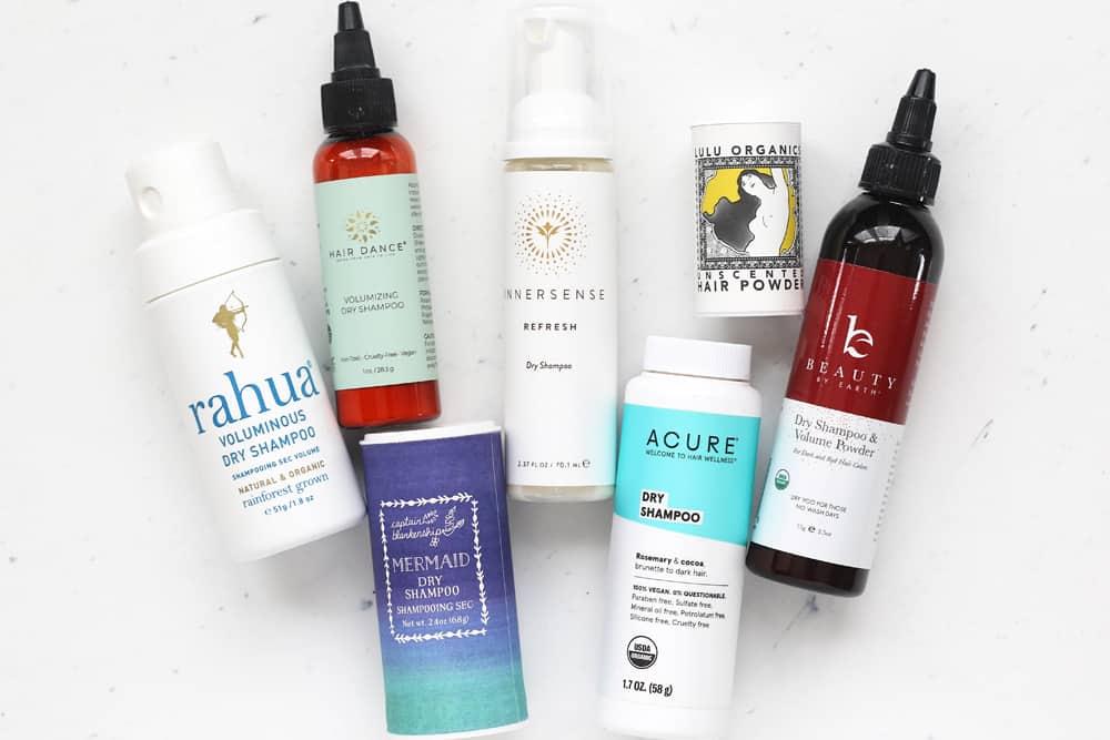 7 Natural Dry Shampoo Brands
