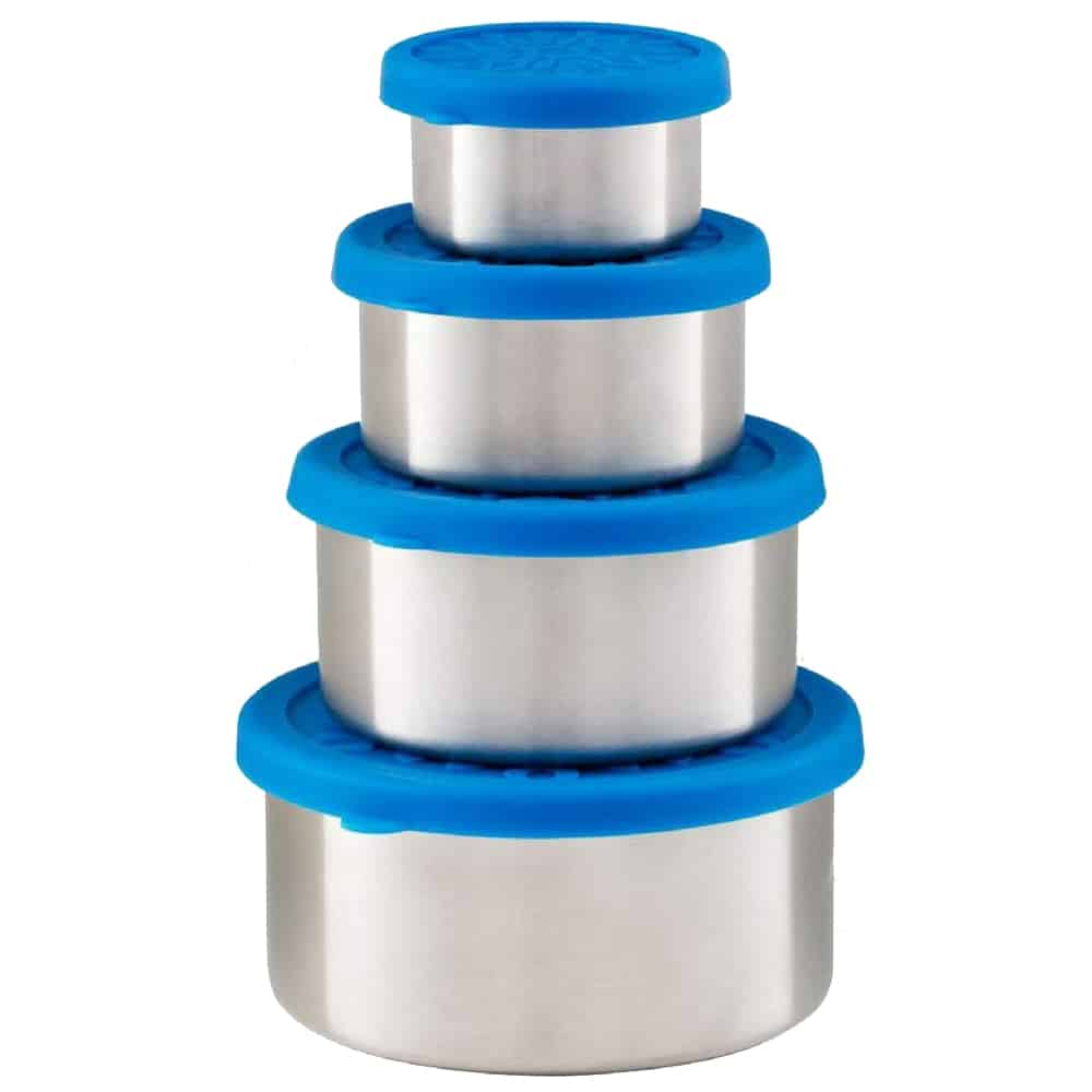 Harvest & Home Stainless Steel Snack Containers