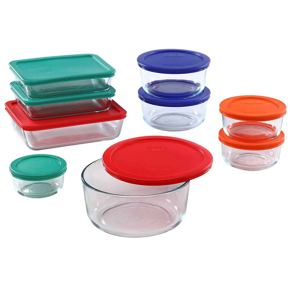 Pyrex Glass Food Storage