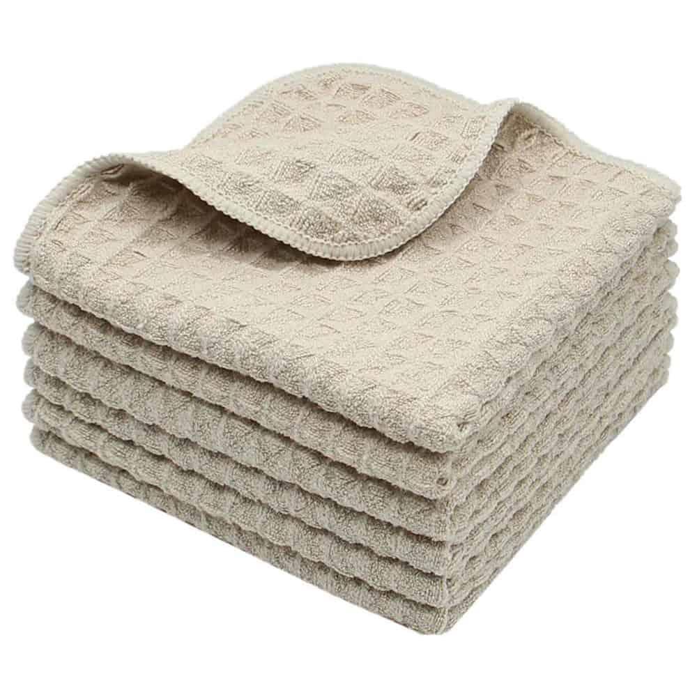 Microfiber washcloths
