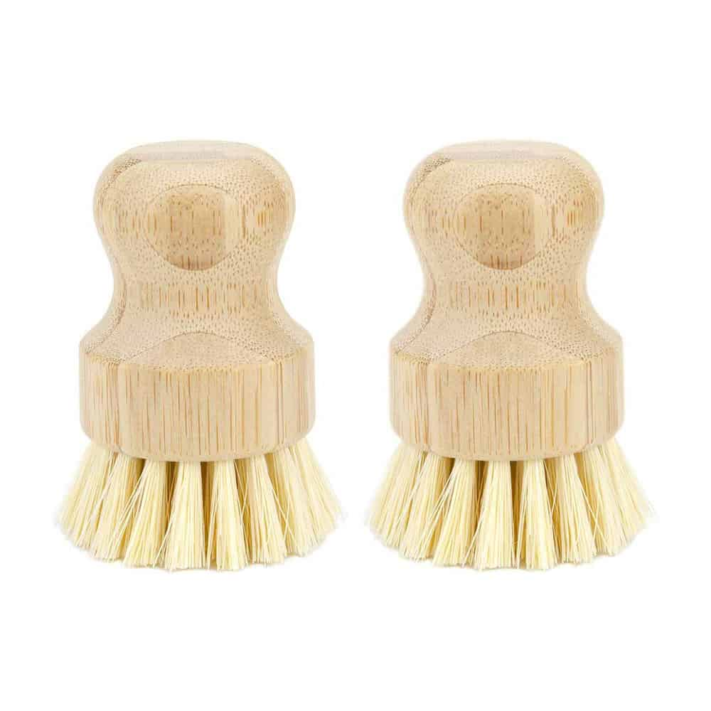 Bamboo Handle & Coconut Bristle Scrubbers