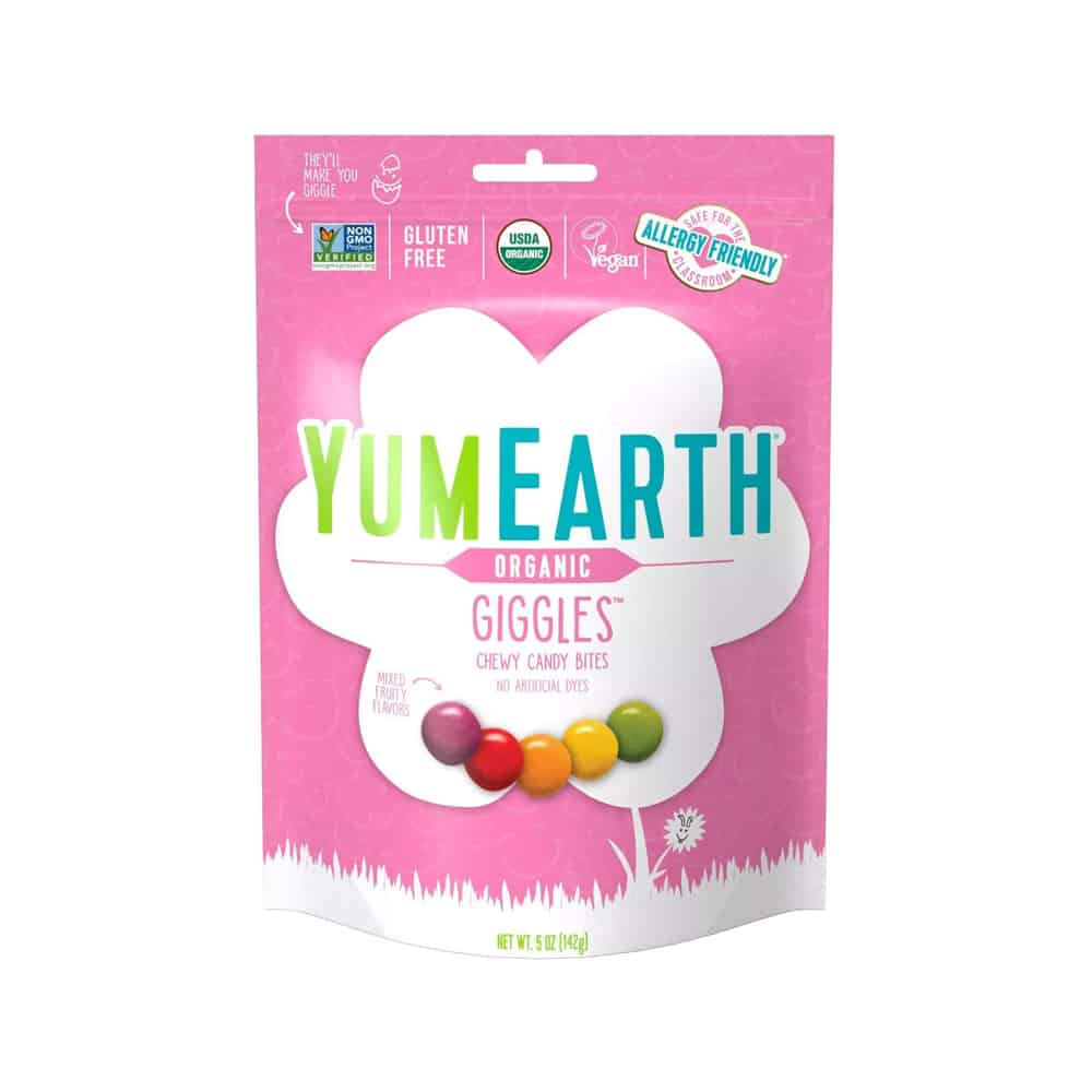 YumEarth Organic Giggles Candy Chew Bites