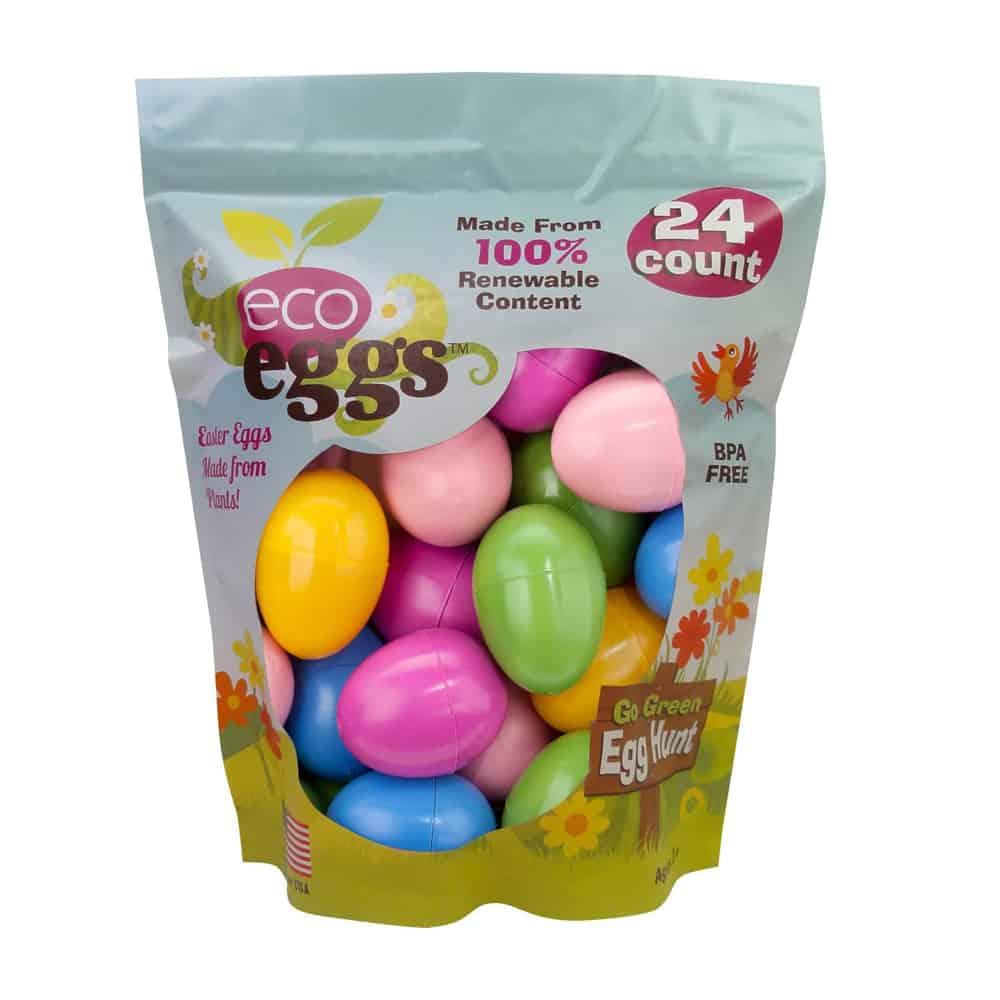 eco eggs Plant Based Plastic Easter Eggs