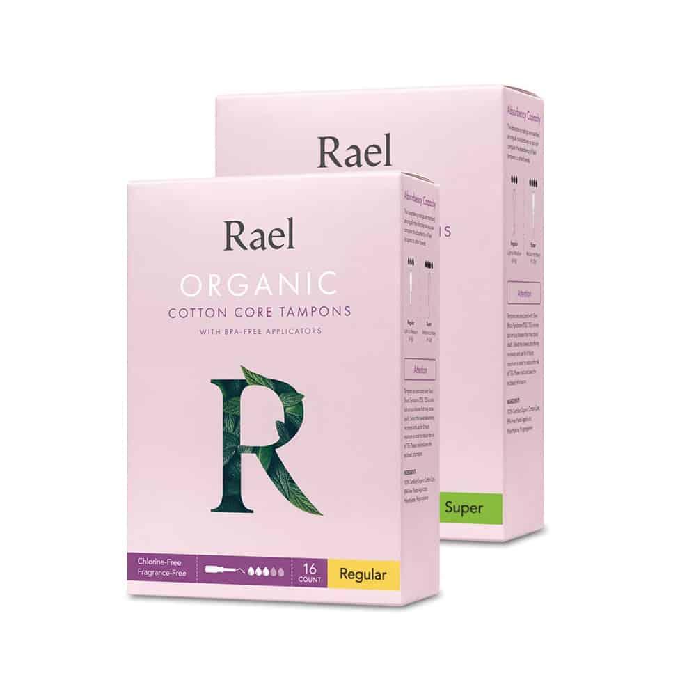 Rael Organic Tampons