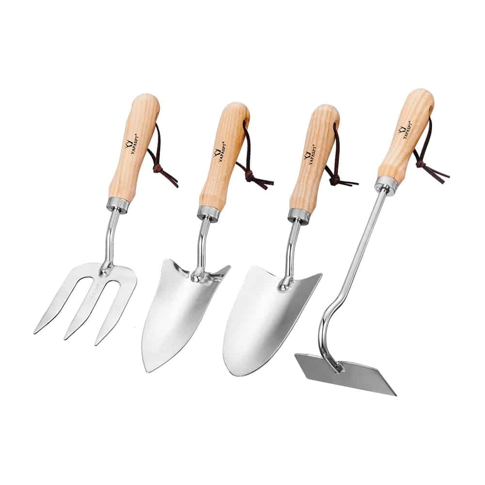 Heavy Duty 4 Piece Garden Hand Tools