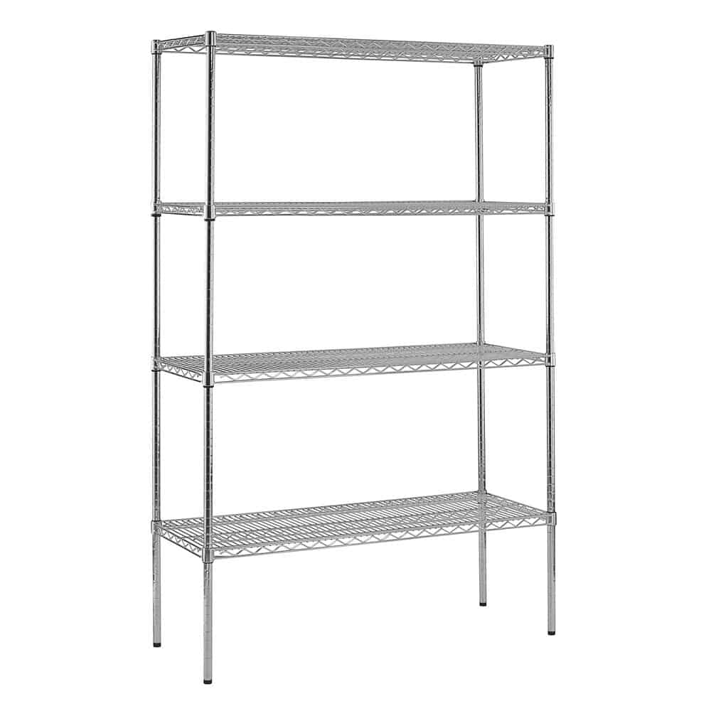 Sandusky Adjustable Chrome Wire Shelving
