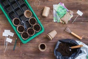 Seed starting supplies