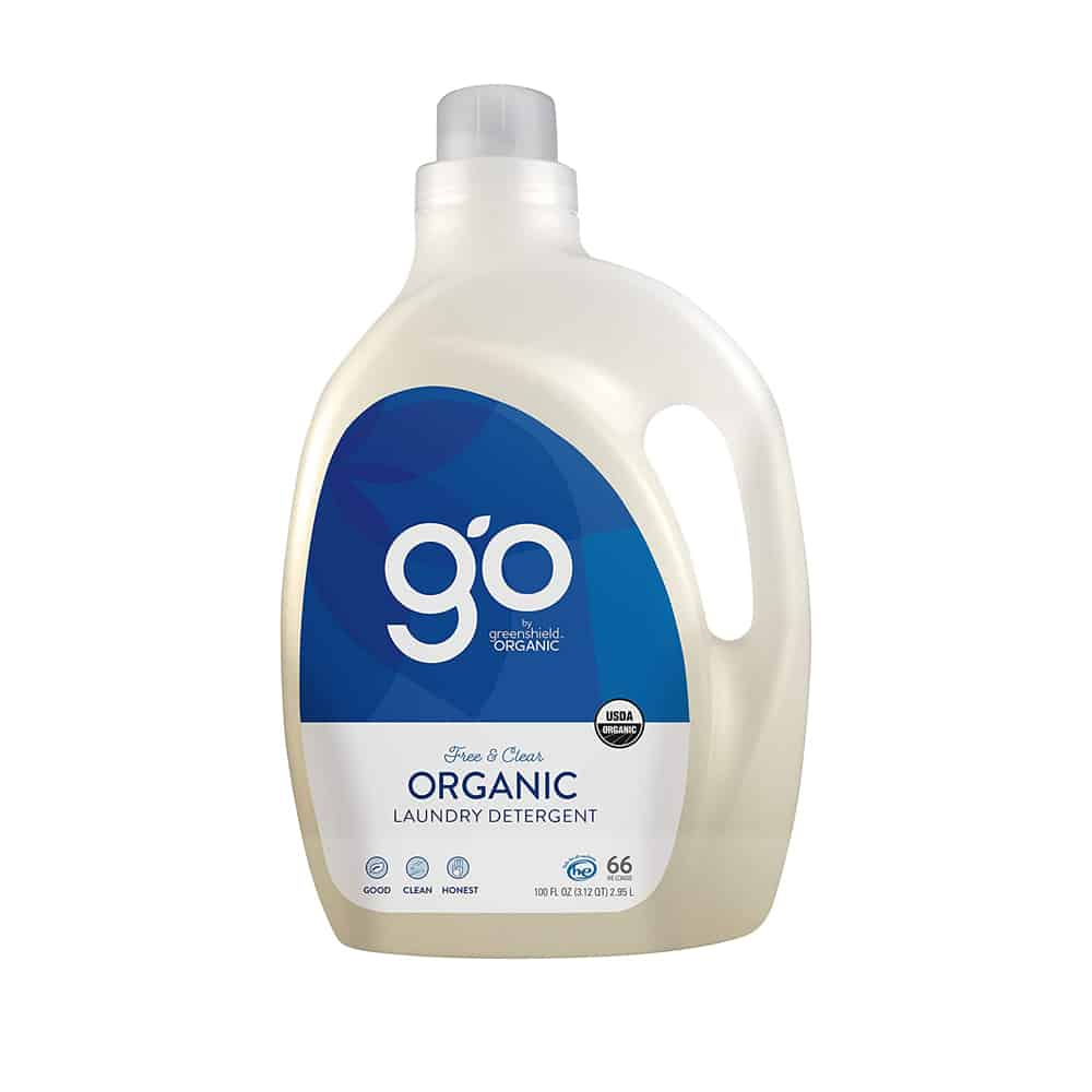 go by Greenshield Organic Laundry Detergent