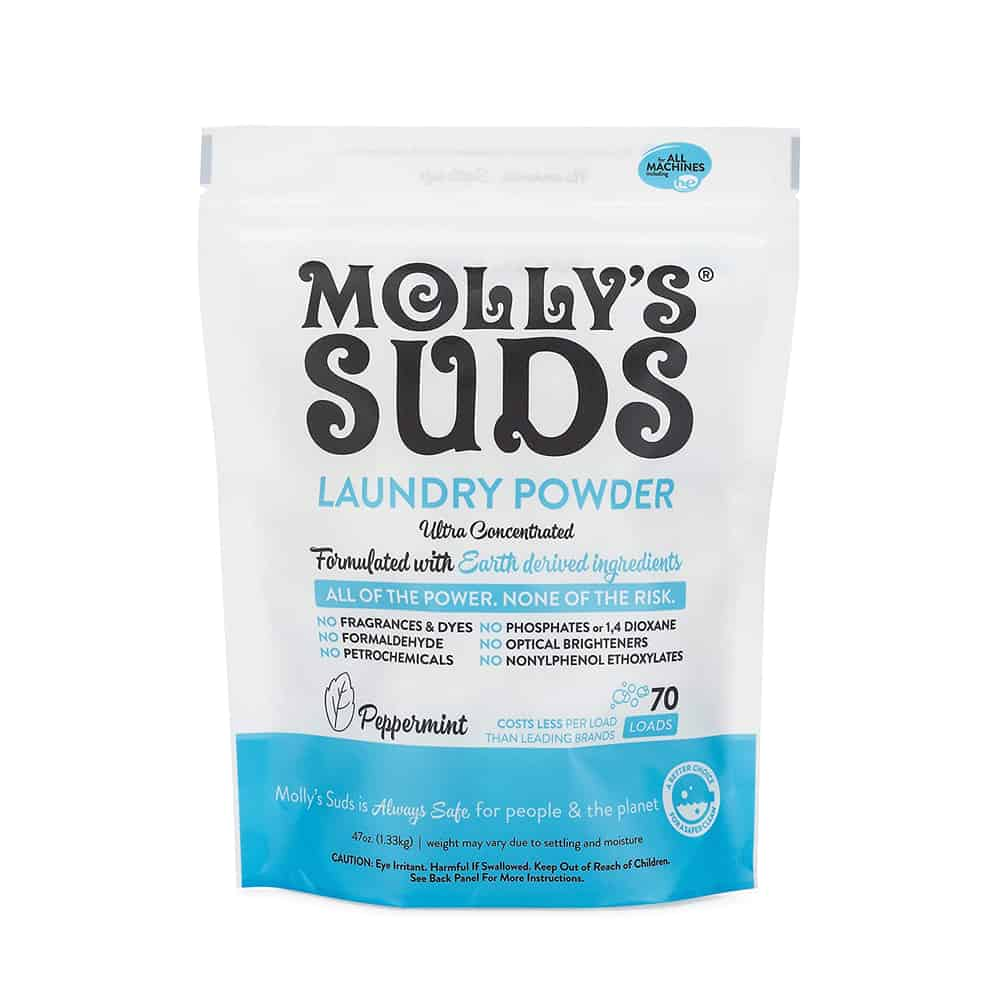 Molly's Suds Natural Peppermint Laundry Detergent