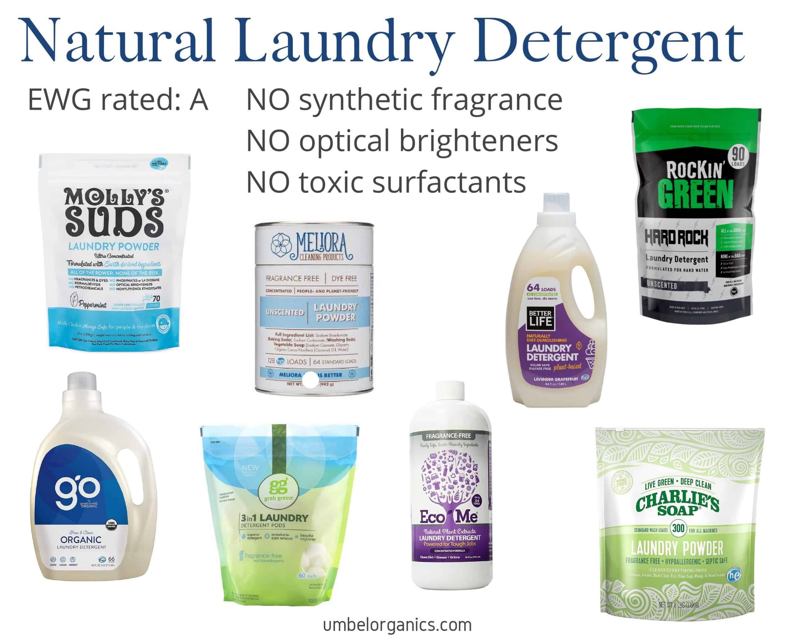 8 Natural Laundry Detergent Brands