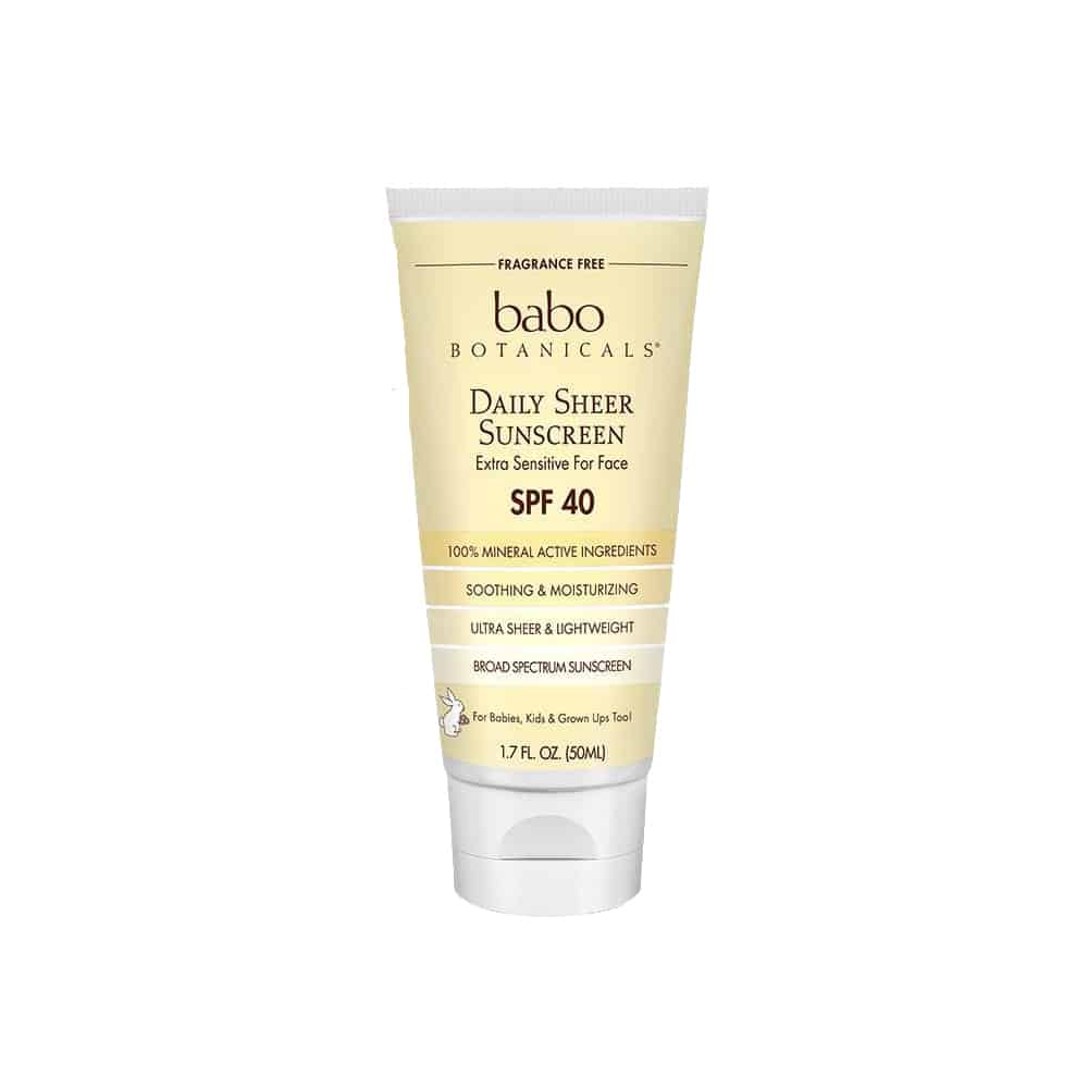 Babo Botanicals Daily Sheer Sunscreen