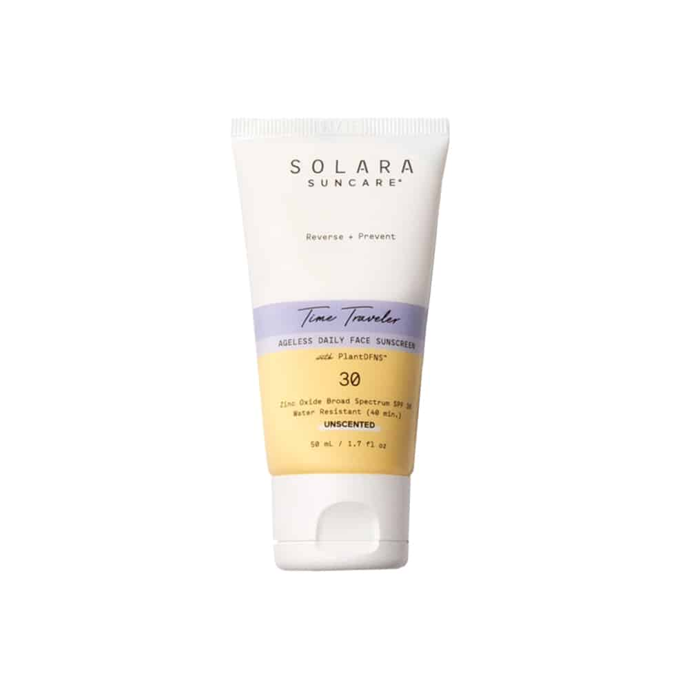 Solara Suncare Time Traveler Ageless Daily Face Sunscreen