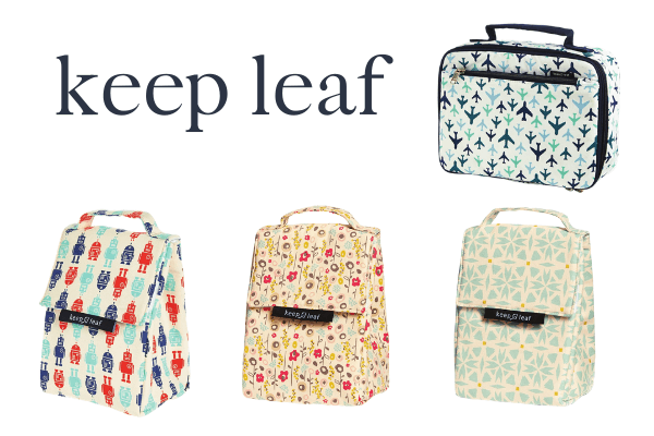 keep leaf lunch box and bags