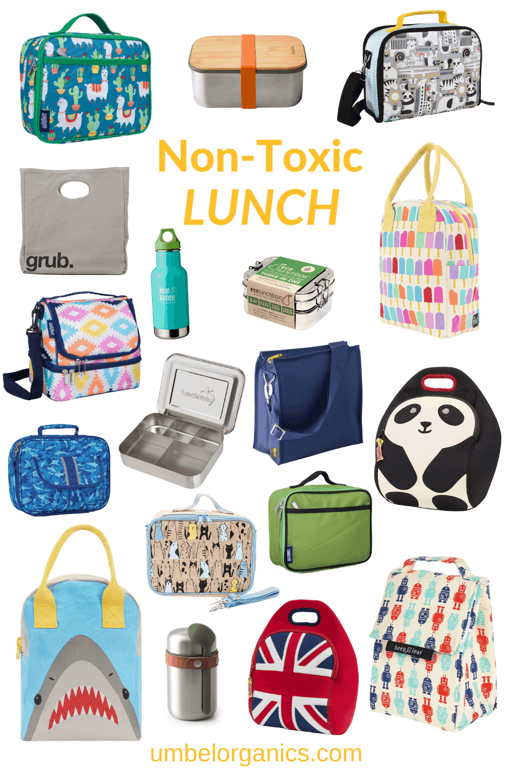 Back To School Non-Toxic Lunch Gear