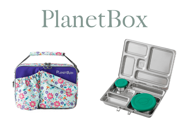 PlanetBox lunchbox and stainless steel bento