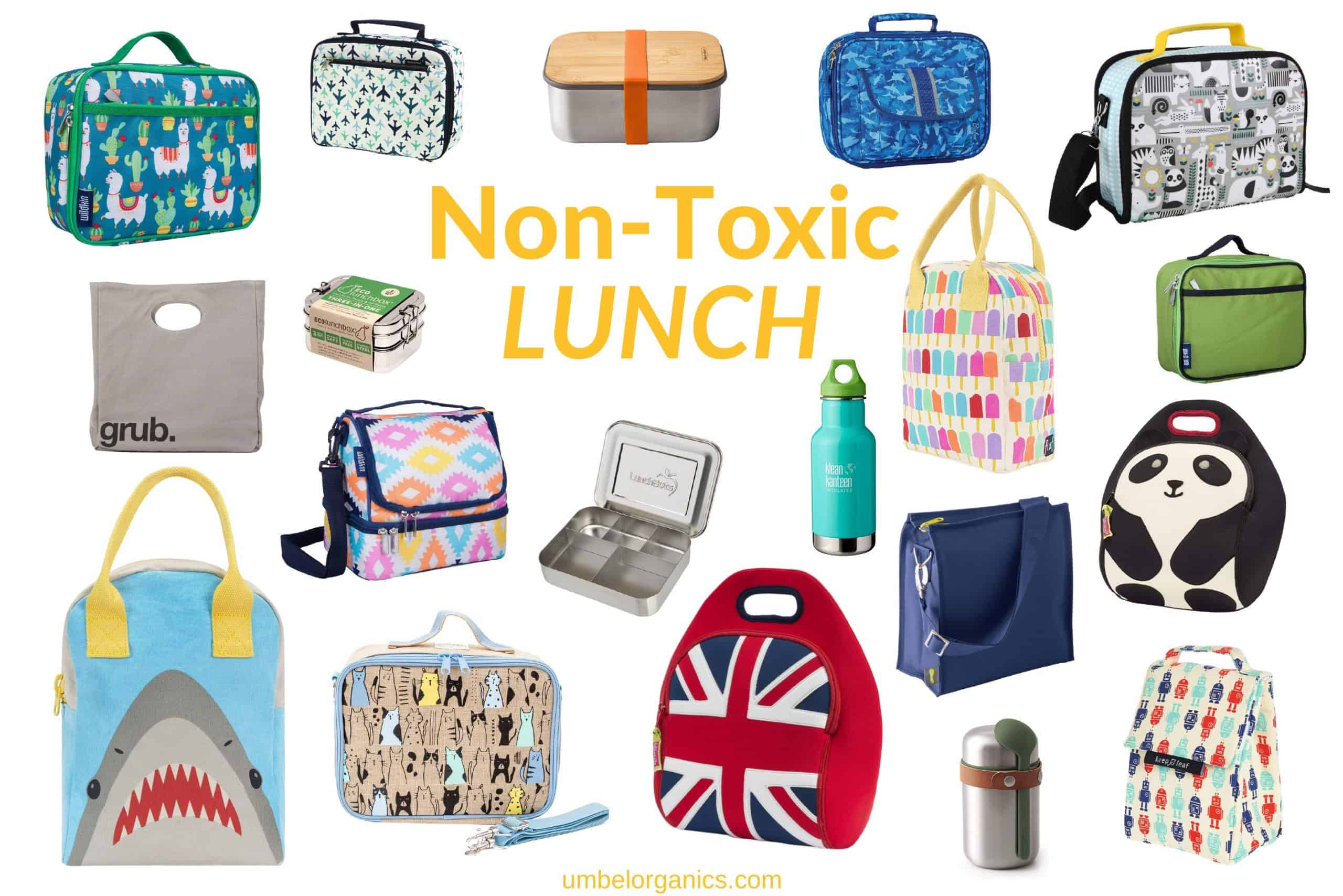 Non-toxic lunchboxes, lunch bags and accessories