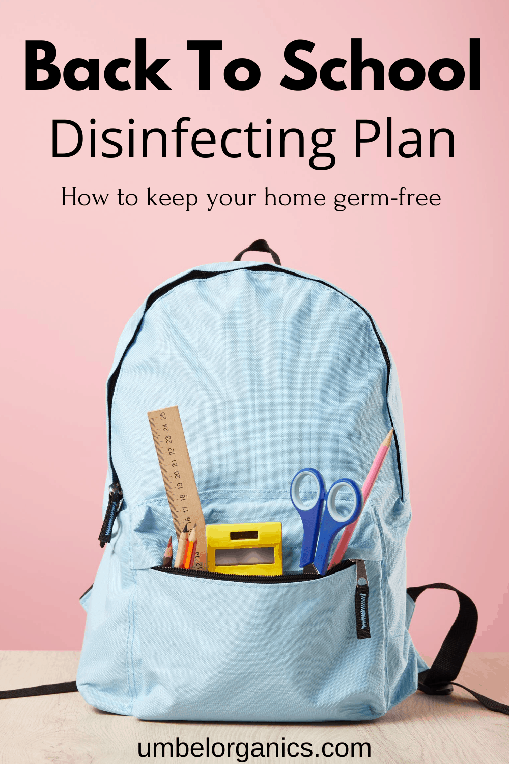 Back to school disinfecting plan