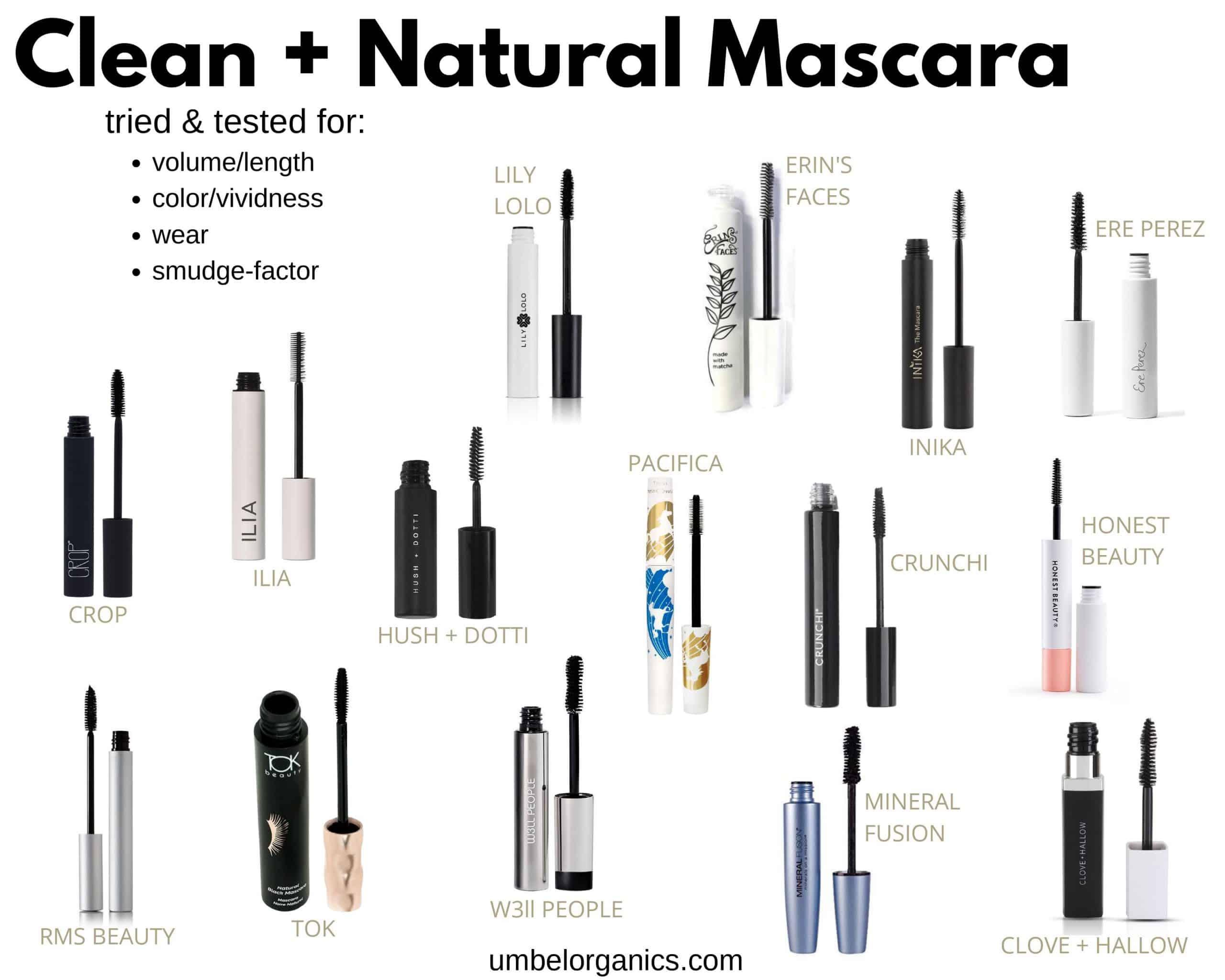 15 clean mascara brands