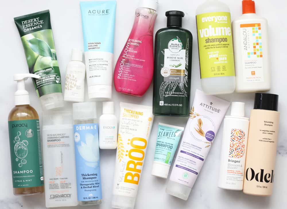clean shampoo brands