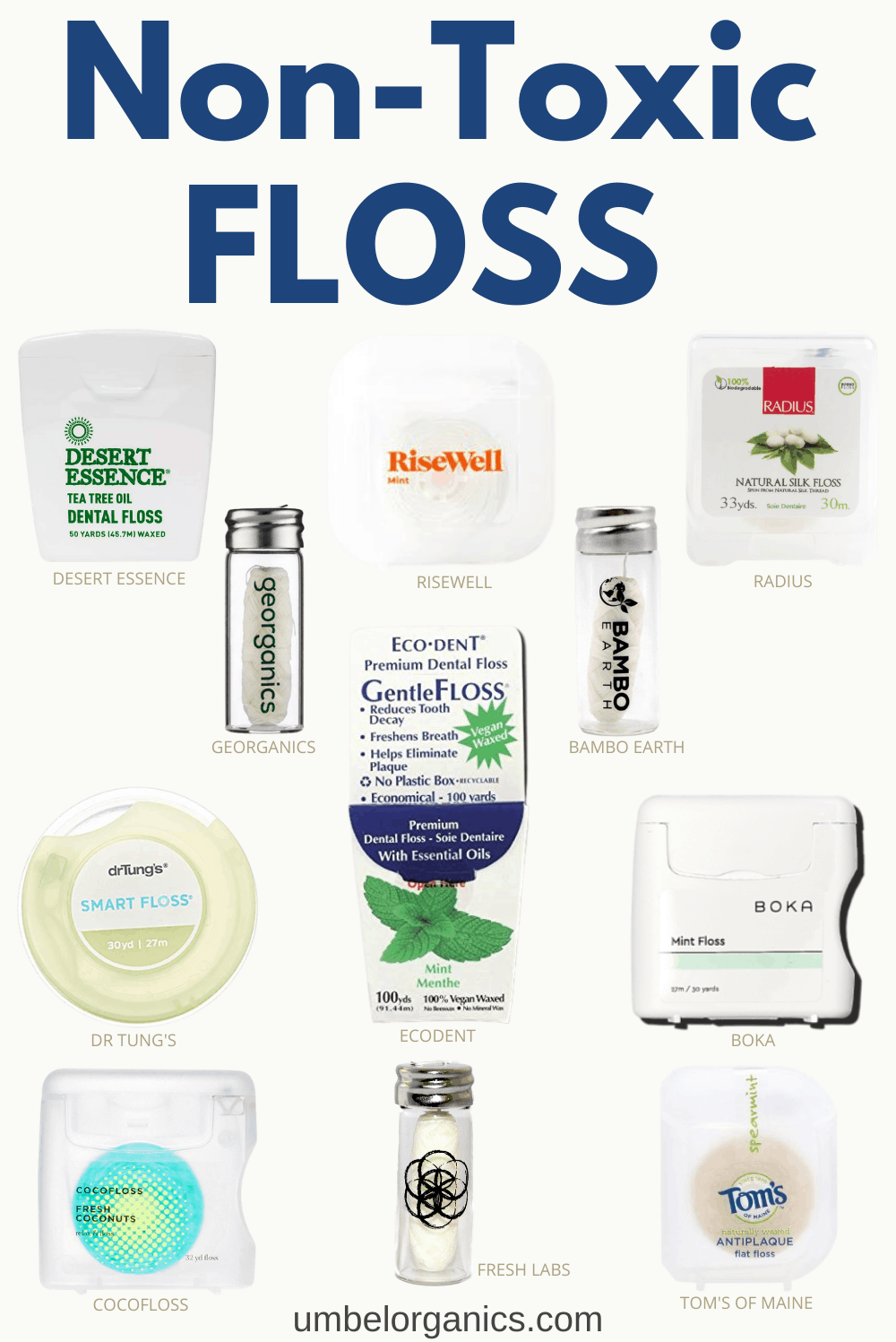 11 brands of non-toxic dental floss