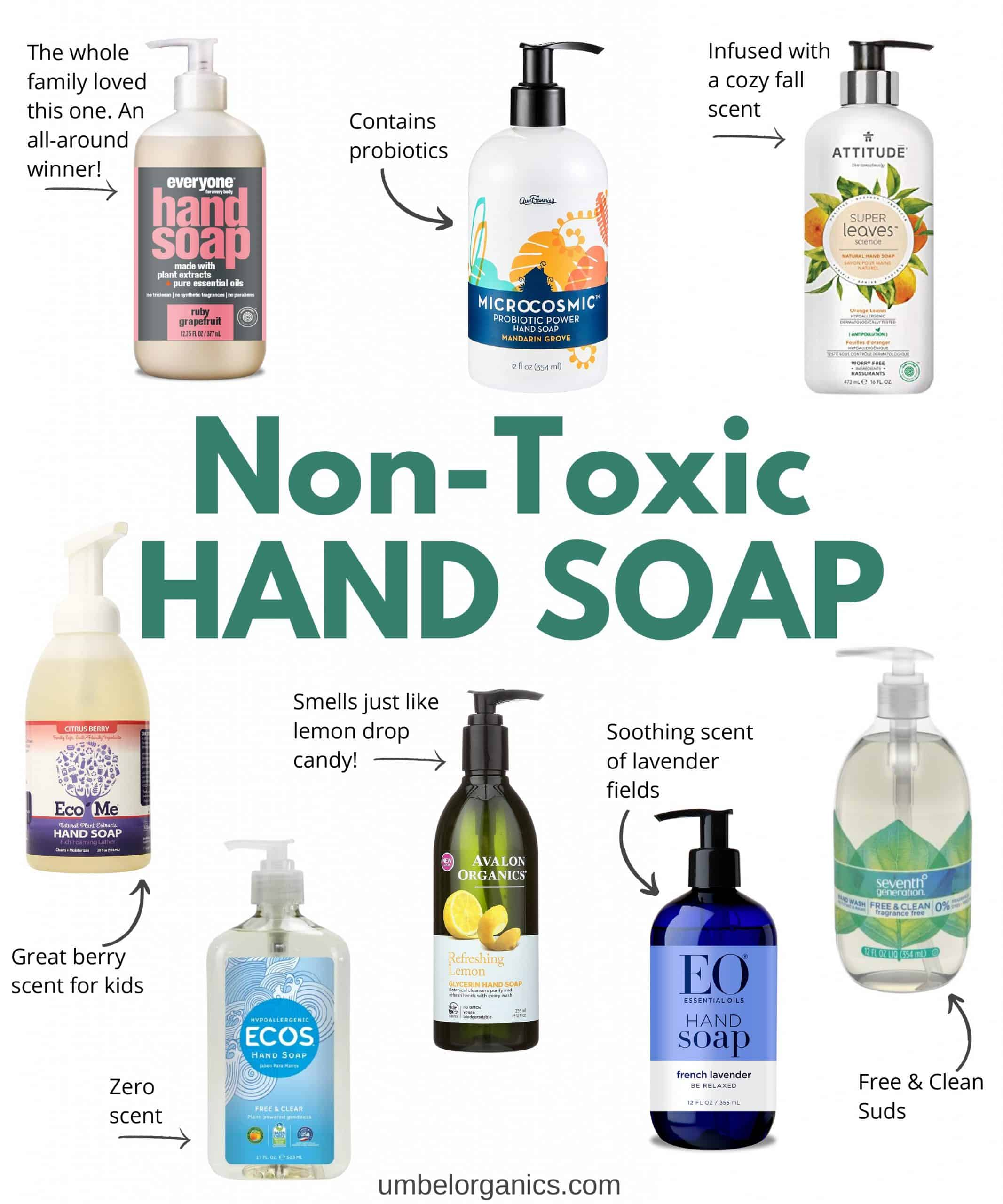 8 Non-Toxic Hand Soap Brands