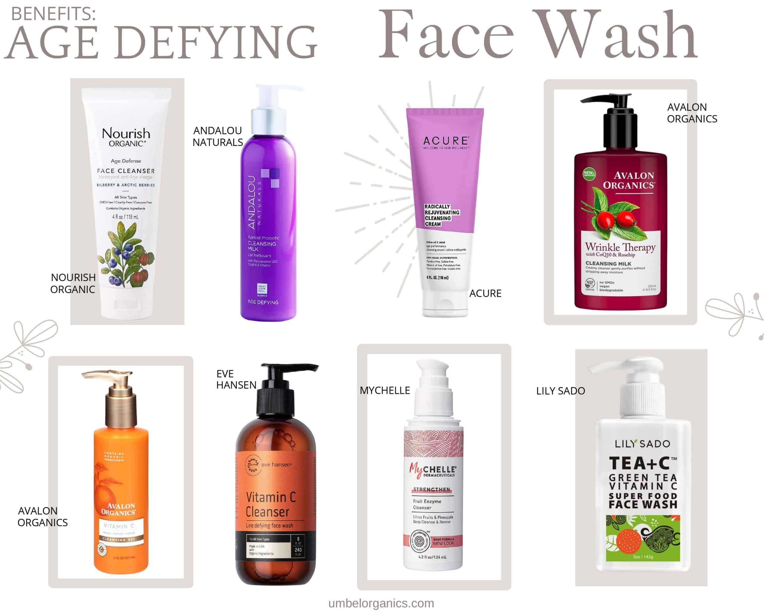 Budget-Friendly Age Defying Face Wash