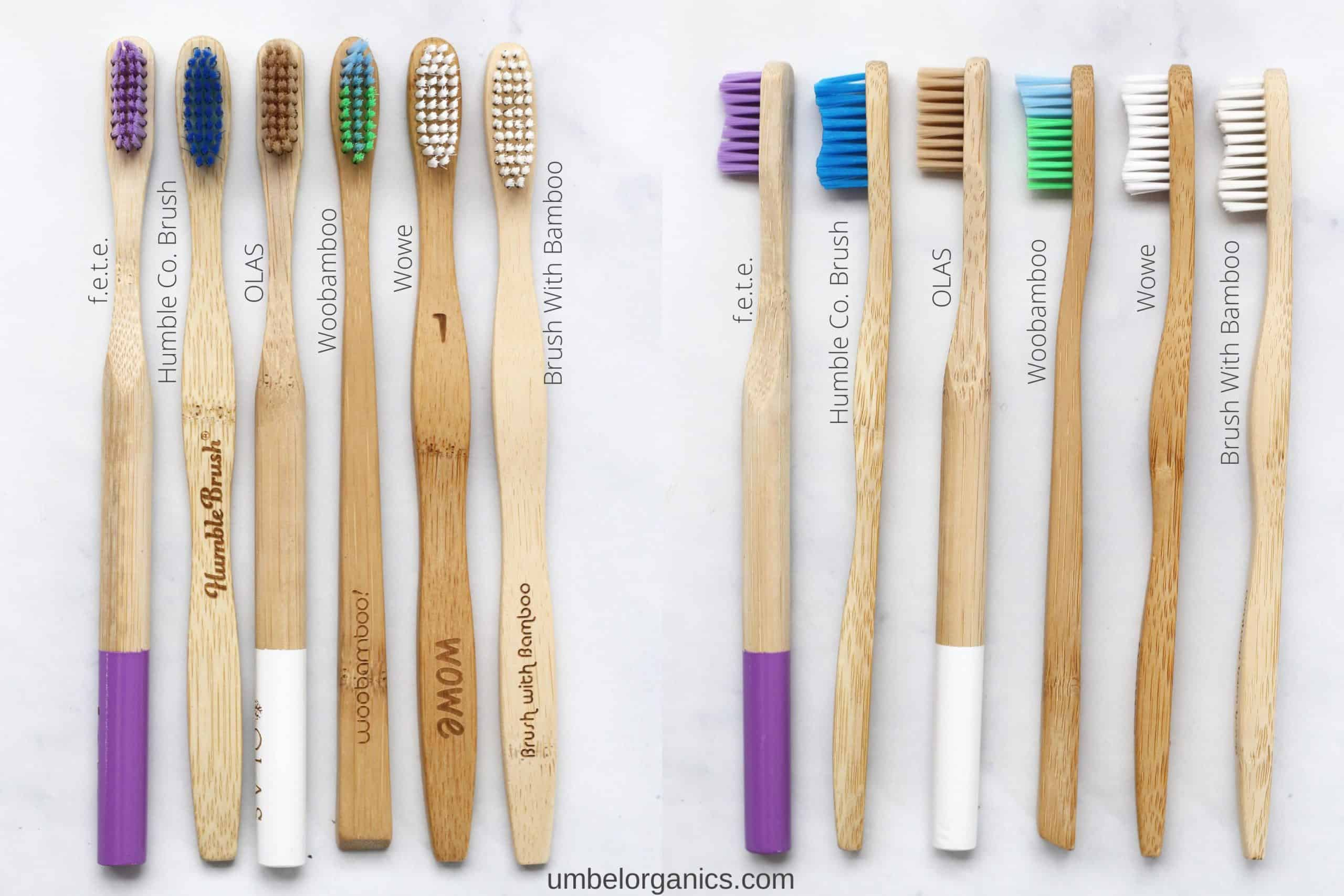 6 Brands of Bamboo Toothbrushes
