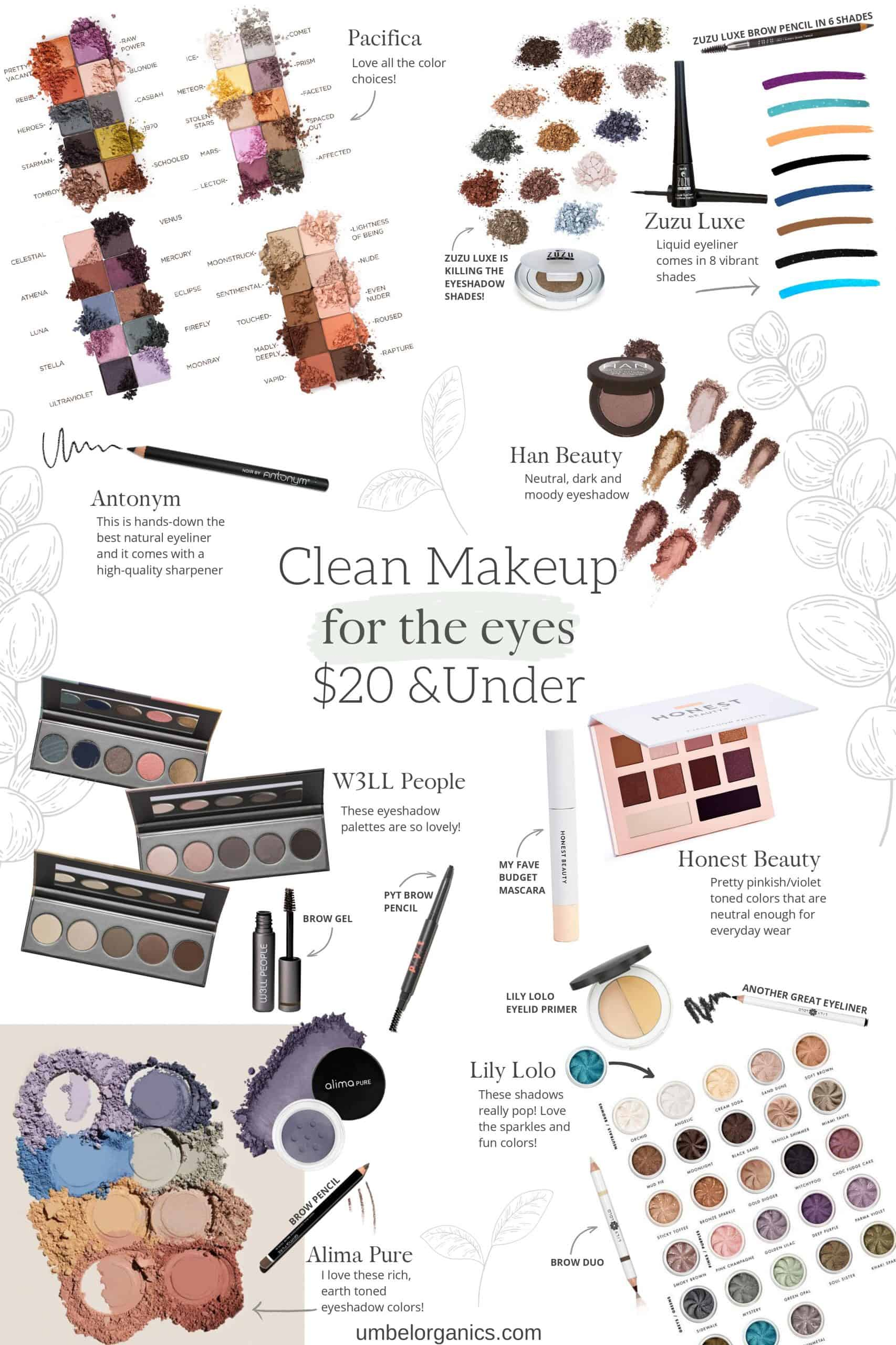 Budget-friendly Clean Makeup For The Eyes