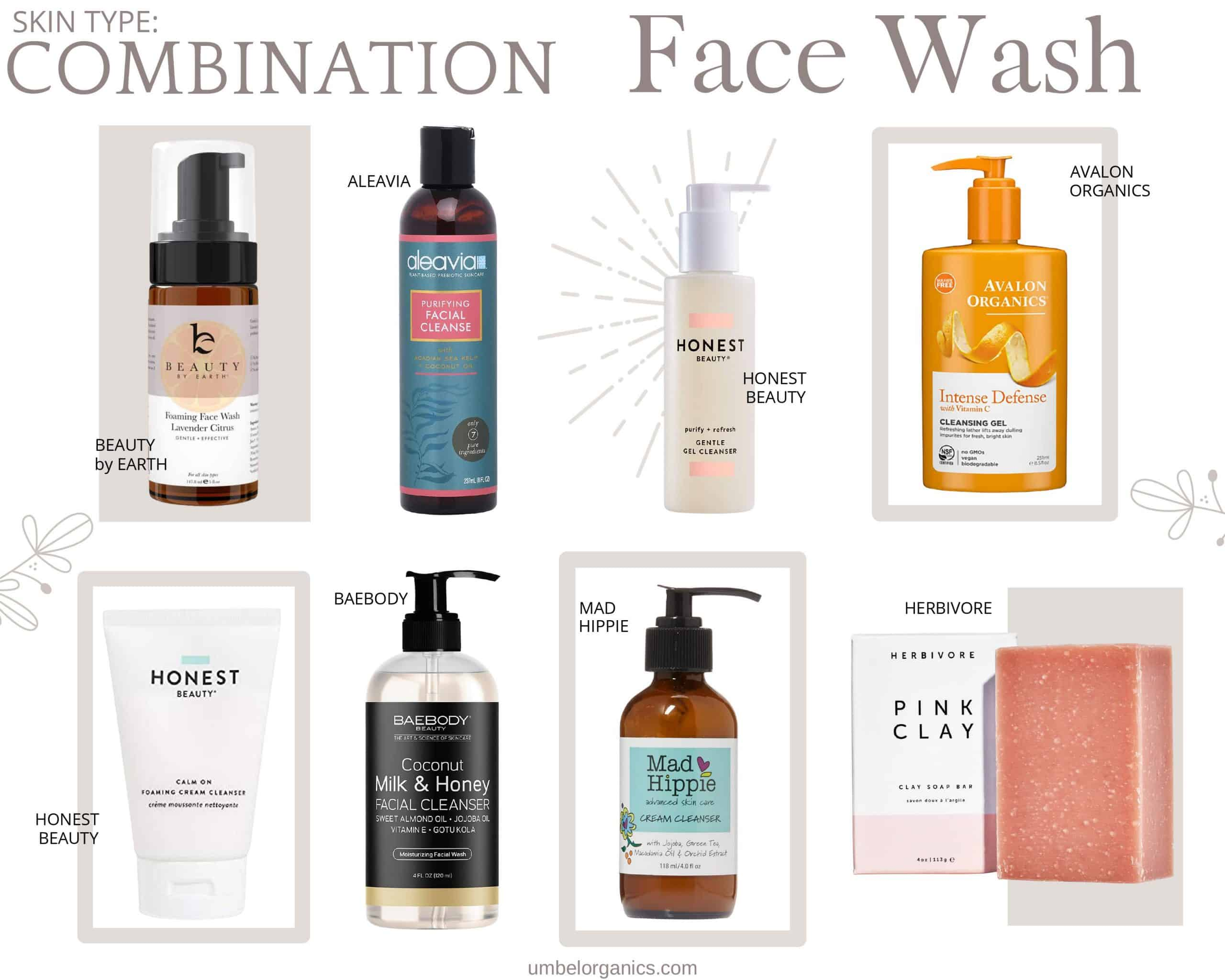 Combination Natural Face Wash