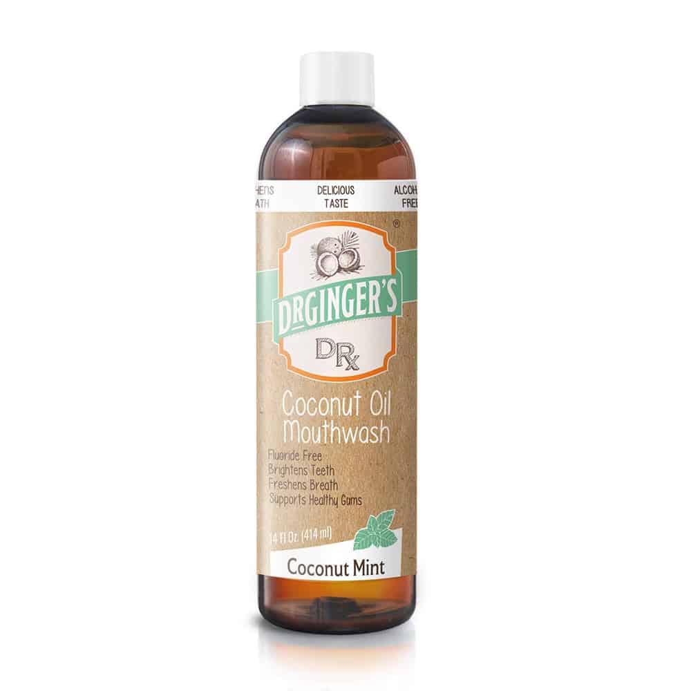 Dr. Ginger's Coconut Oil Mouthwash