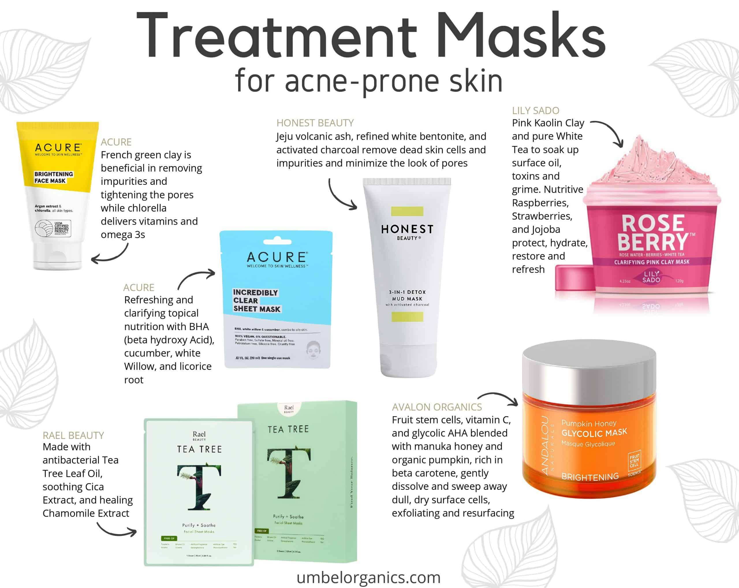 6 brands of affordable, clean treatment masks for acne-prone skin