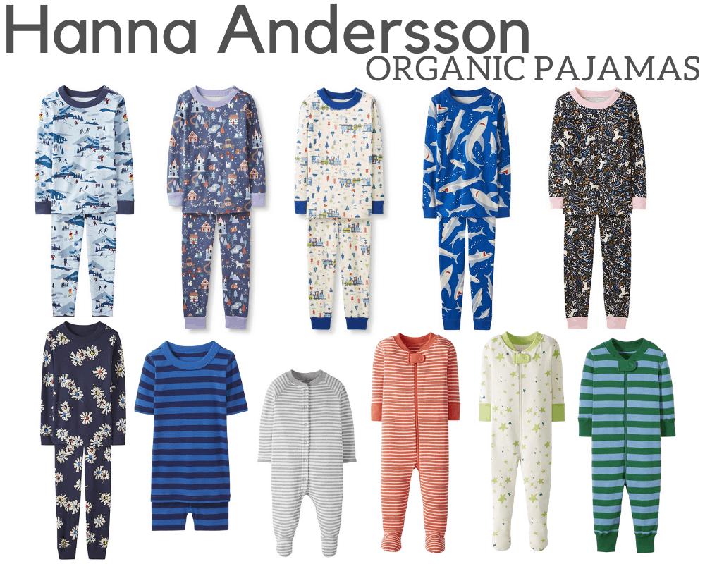 Hanna Andersson Organic Pajamas