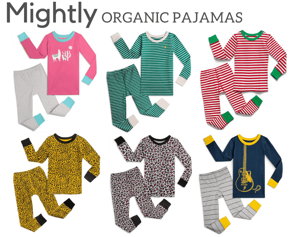 Mightly Kids Organic Pajamas