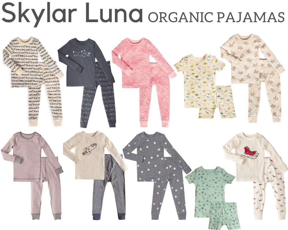 Skylar Luna Organic Pajamas