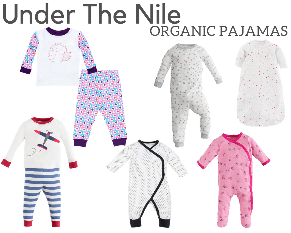 Under The Nile Organic Pajamas