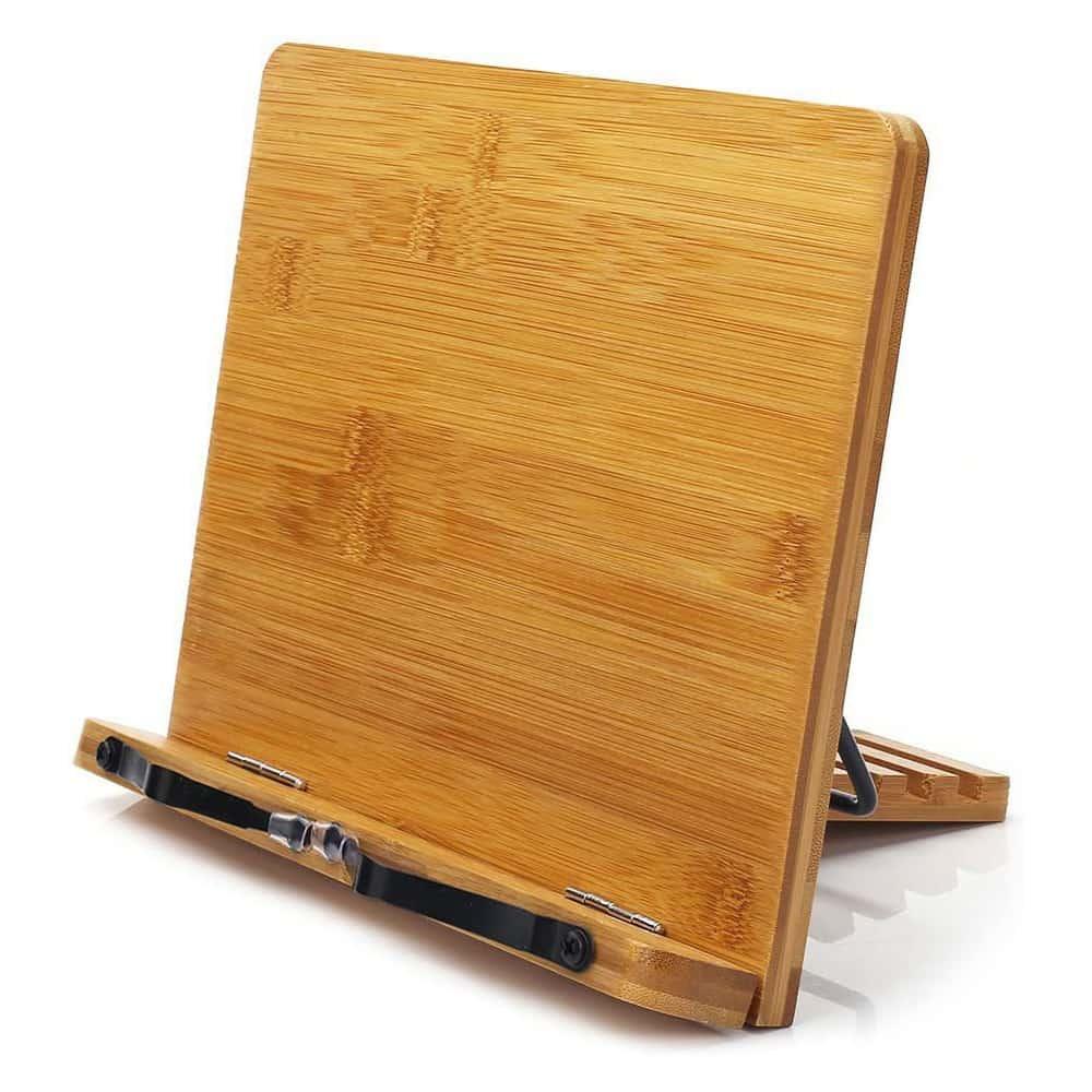 Bamboo iPad Stand