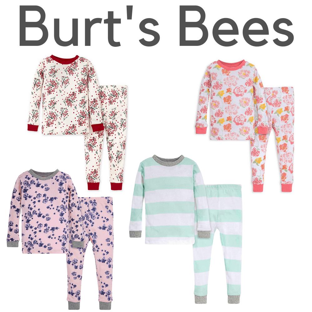 Burt's Bees Organic Girls Pajamas