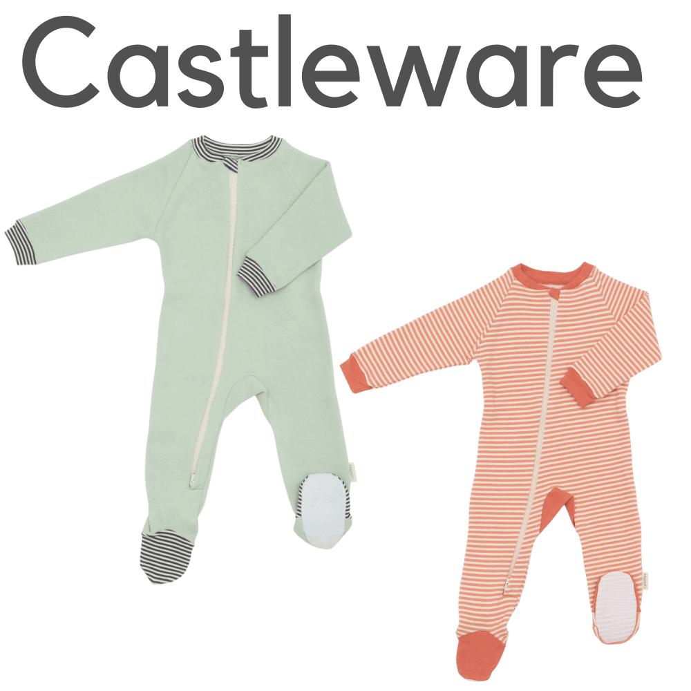 Castleware Organic Footie Pajamas