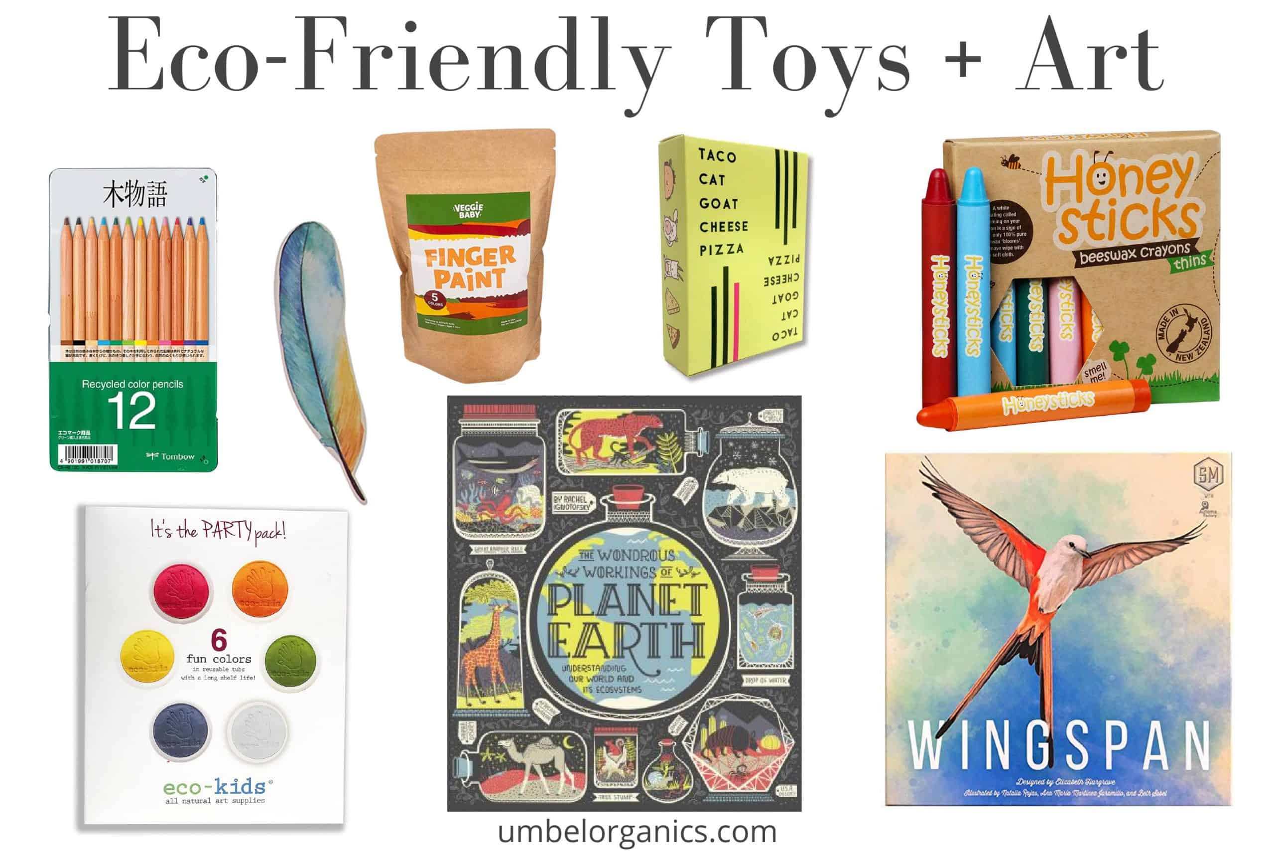 Eco-Friendly Toys & Art Supplies