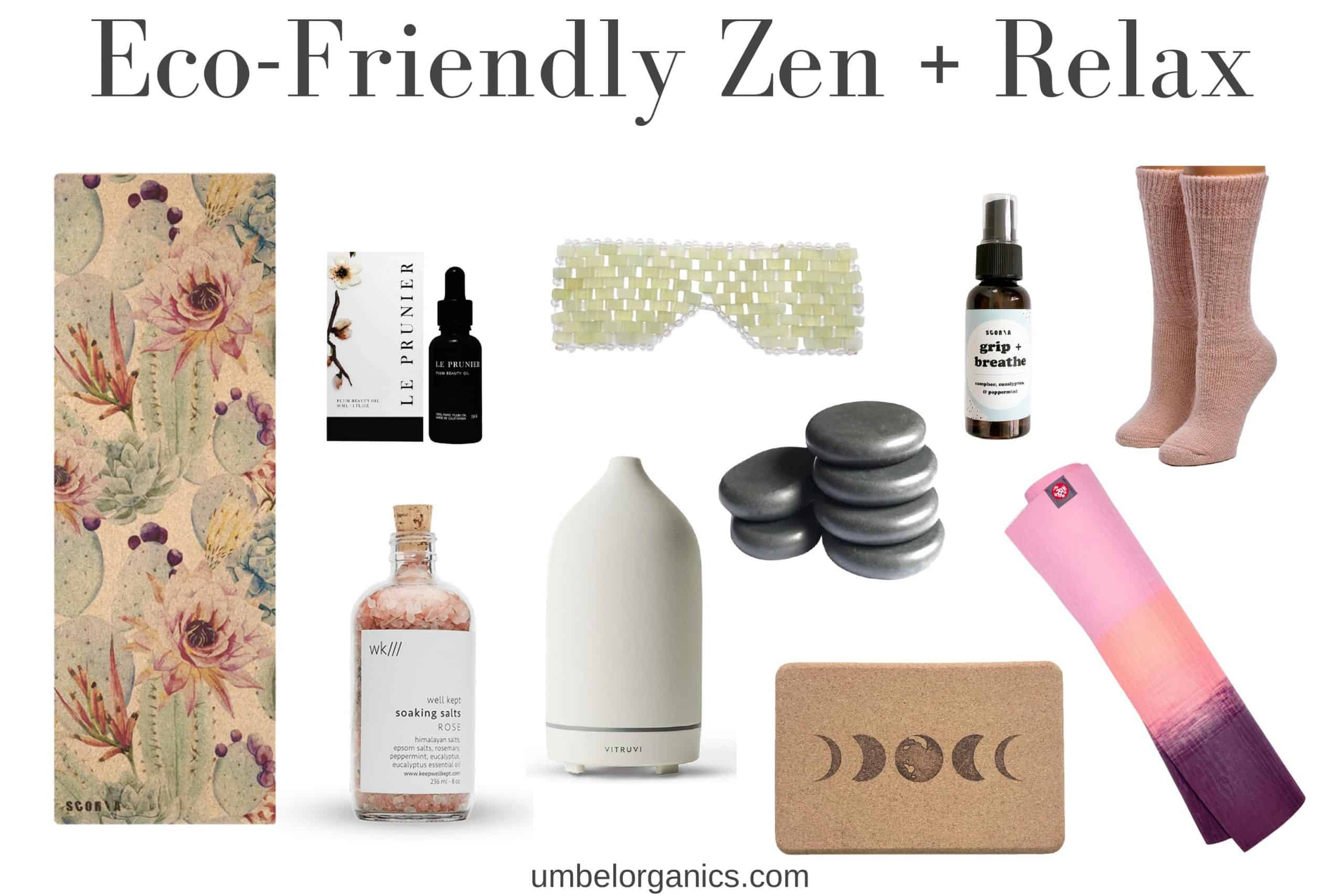 Eco-Friendly Zen + Relax Gifts