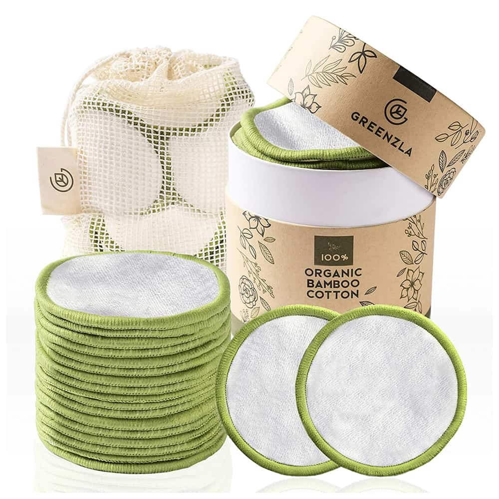 Greenzla Organic Reusable Makeup Pads
