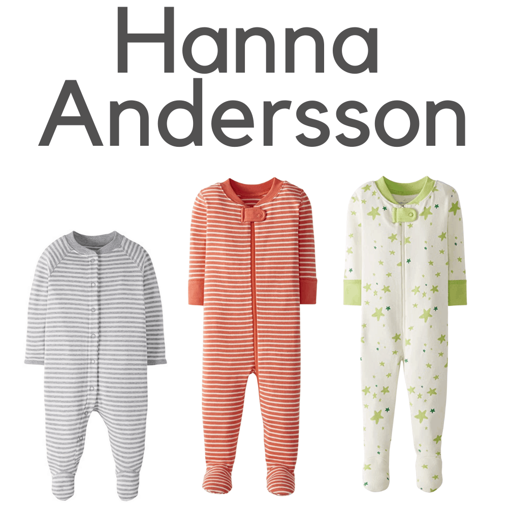 Hanna Andersson Organic Footed Pajamas
