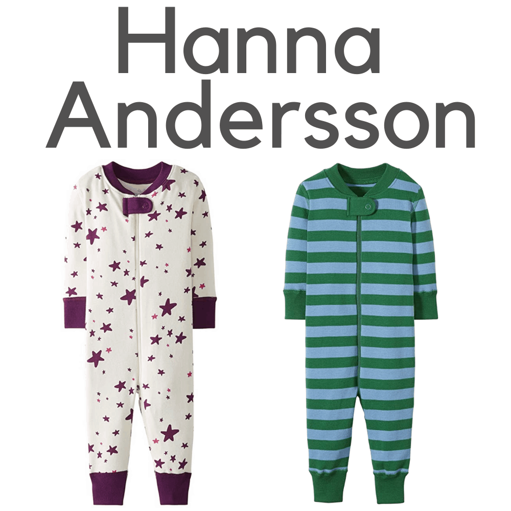 Hanna Andersson Organic Footless Pajamas