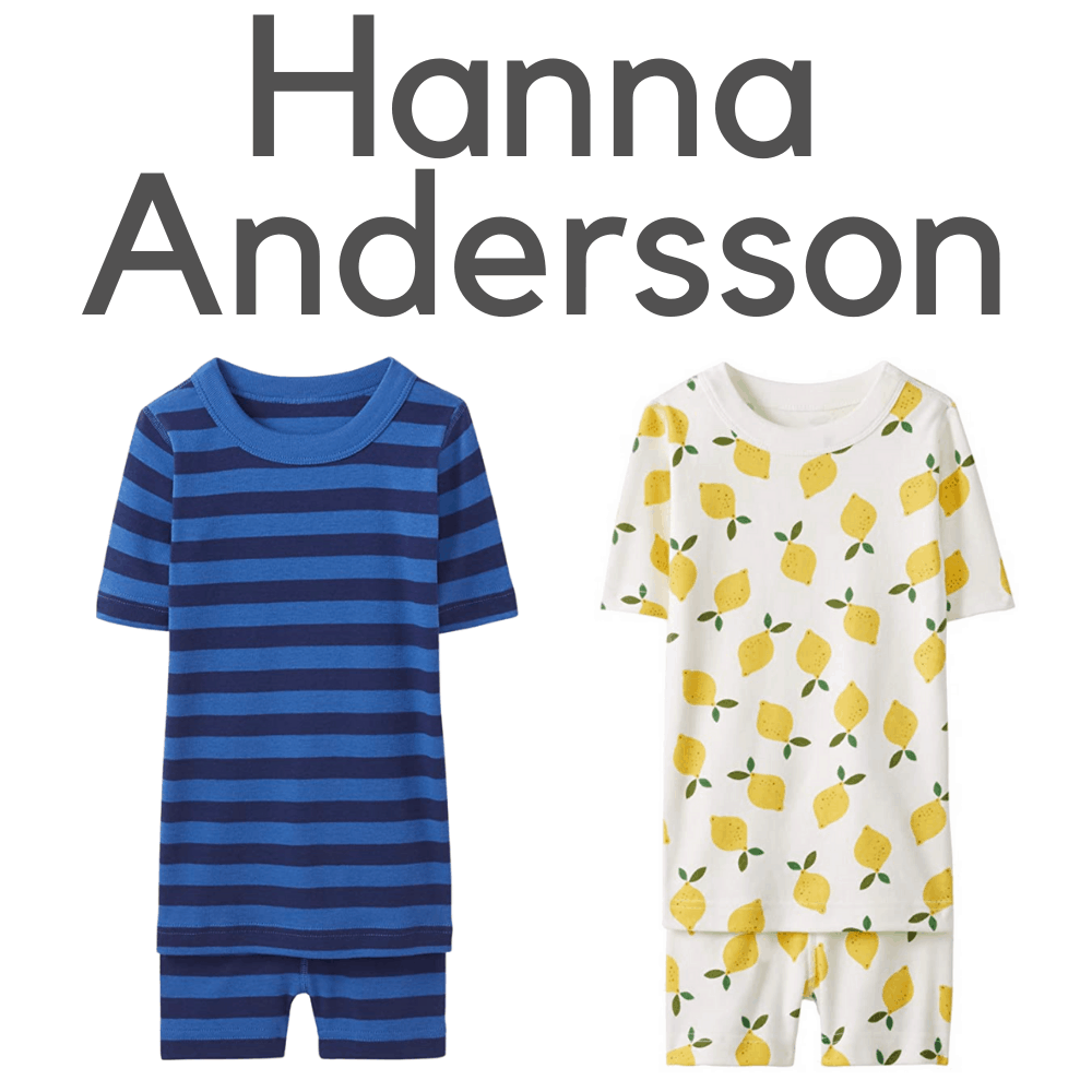 Hanna Andersson Organic Short Sleeve Pajamas