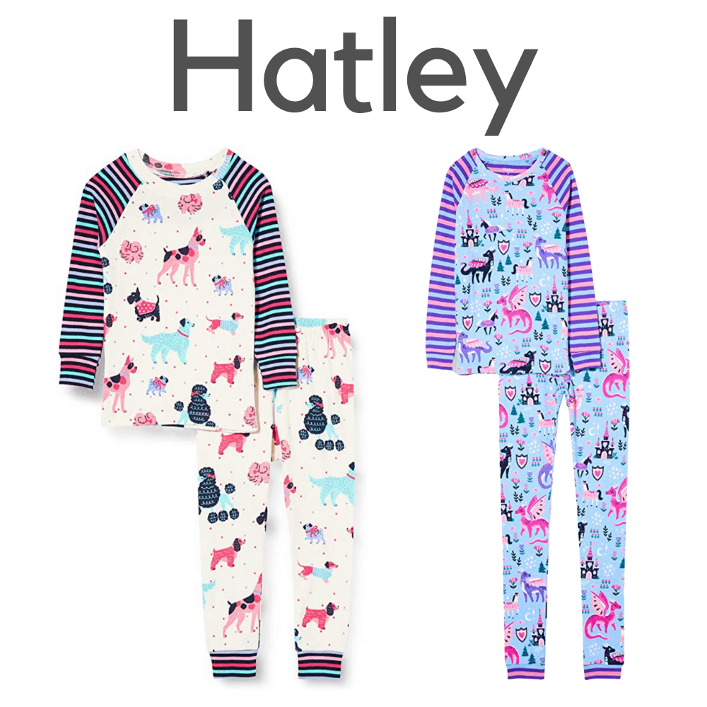 Hatley Organic Girls Pajamas